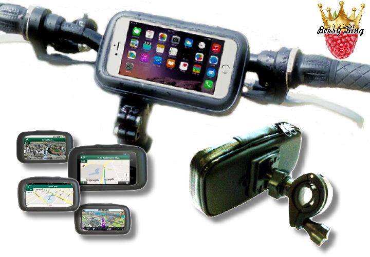 BerryKing Fahrrad Motorrad Smartphonetasche Halterung