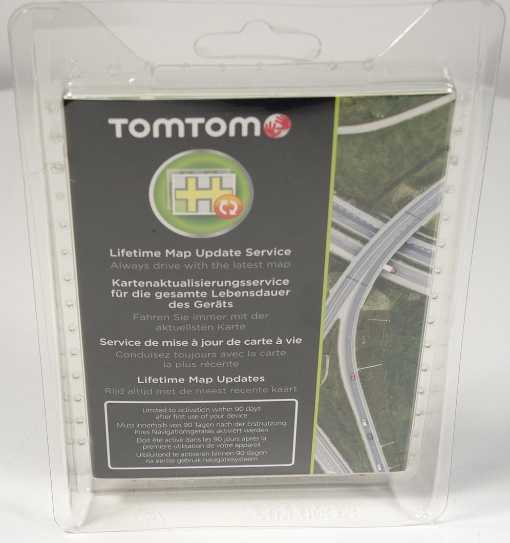 TomTom Kartenaktualisierung Lifetime Map